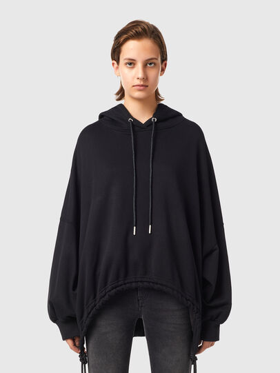 Diesel - F-JUSTINA-B1, Black - Sweaters - Image 1