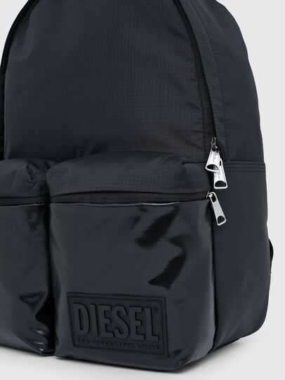 Diesel - BACKYO, Black - Backpacks - Image 5
