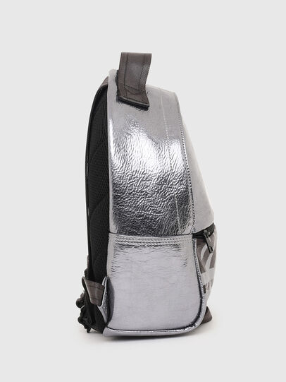 Diesel - F-BOLD BACK FL II, Silver - Backpacks - Image 3