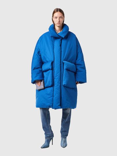 Diesel - W-THEA, Blue - Winter Jackets - Image 1