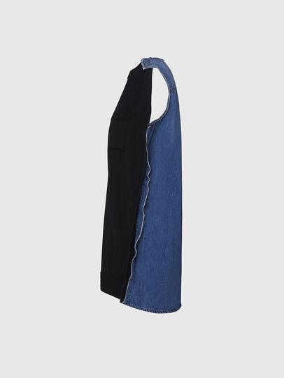 Diesel - M-BYRNE, Black/Blue - Dresses - Image 3