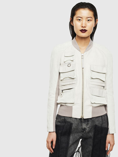 Diesel - L-CERITE,  - Leather jackets - Image 1