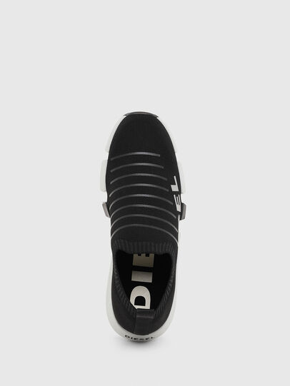 Diesel - H-PADOLA LOW SOCK, Black - Sneakers - Image 5