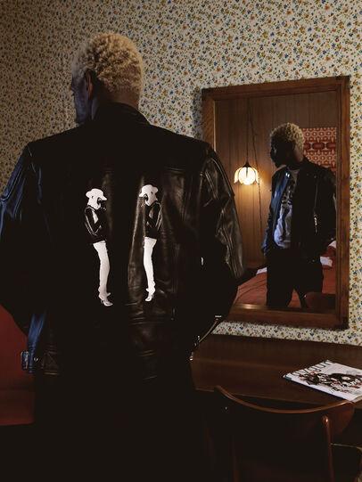 Diesel - US-L-CODY, Black - Leather jackets - Image 4