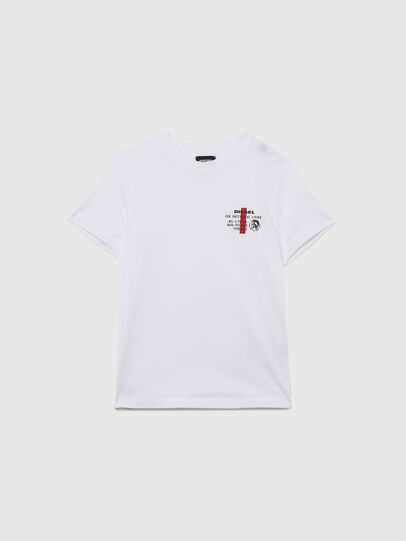 Diesel - UMLT-TDIEGOS, White - T-shirts and Tops - Image 1