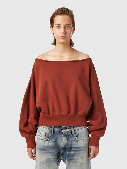 Diesel - F-BAT-B1, Brown - Sweaters - Image 1