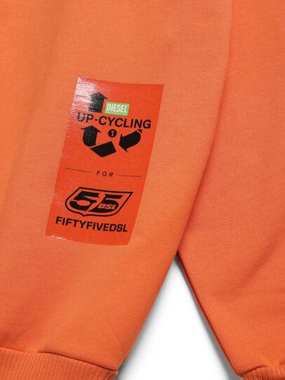 Diesel - D-BNHILL-S, Orange - Sweaters - Image 4