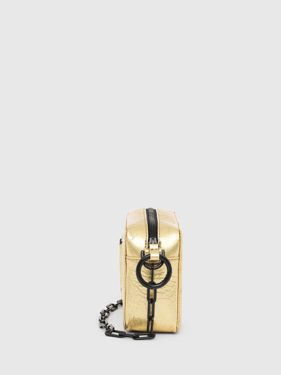 Diesel - ROSA' PCHAIN, Gold - Crossbody Bags - Image 3