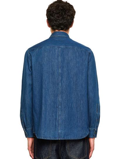 Diesel - D-MILLY-SP, Medium blue - Denim Shirts - Image 2