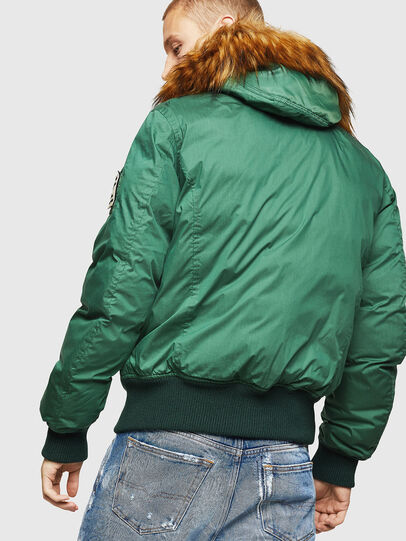 Diesel - W-BURKISK, Green - Winter Jackets - Image 2