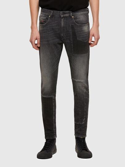 Diesel - D-Strukt 009MZ, Black/Dark grey - Jeans - Image 1