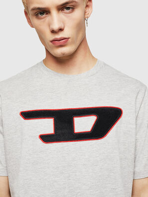 T-JUST-DIVISION-D, Grey - T-Shirts