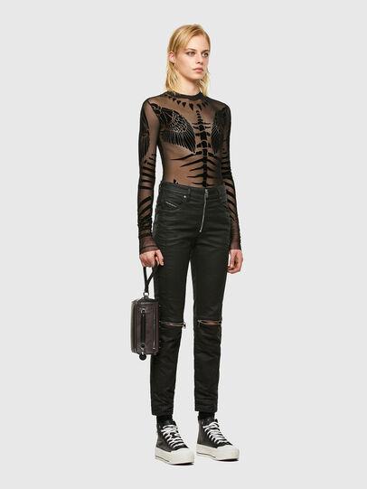 Diesel - D-Joy JoggJeans® 069TT, Black/Dark grey - Jeans - Image 6