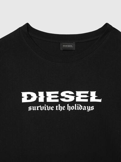 Diesel - UMSET-JULIO-DIEGOS-J, Black - Pajamas - Image 3