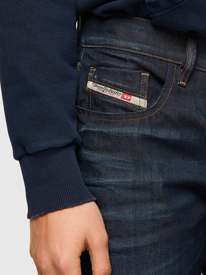 Diesel - D-Strukt 09A45, Dark Blue - Jeans - Image 4