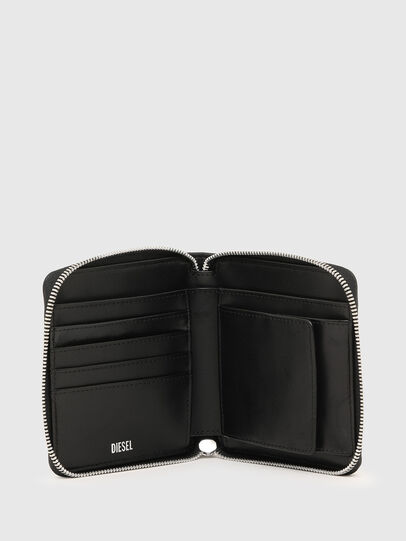 Diesel - PI-ZIP II, Pink/Black - Zip-Round Wallets - Image 3