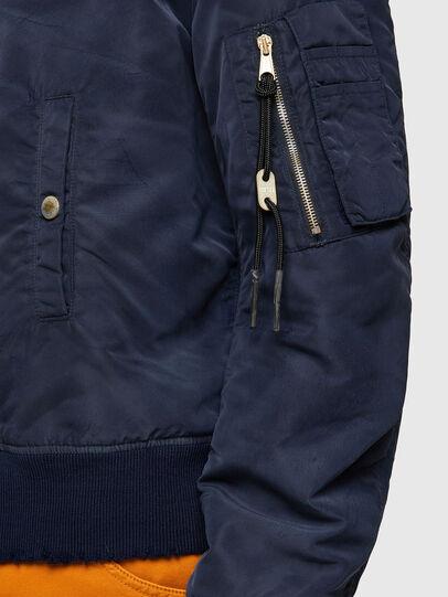 Diesel - J-MA-ONE-A, Dark Blue - Jackets - Image 5