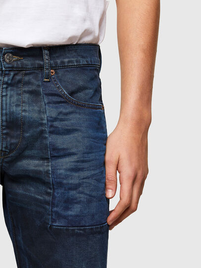 Diesel - D-Strukt JoggJeans® 069TY, Dark Blue - Jeans - Image 4