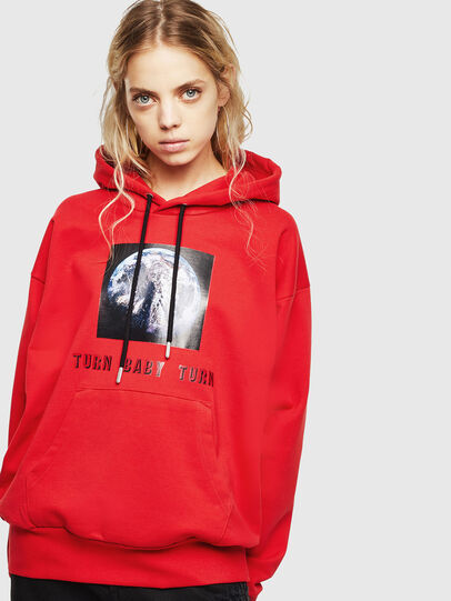 Diesel - S-ALBY-YA, Red - Sweaters - Image 2