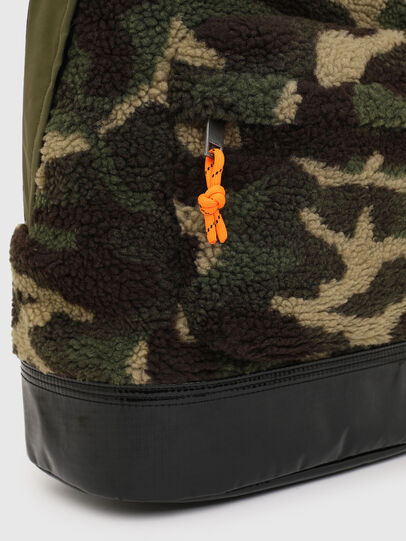 Diesel - MARMUT, Green Camouflage - Backpacks - Image 5