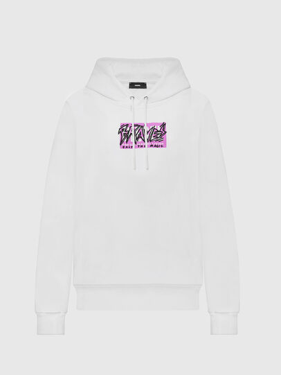 Diesel - F-MAGDALENA-E1, White - Sweaters - Image 1