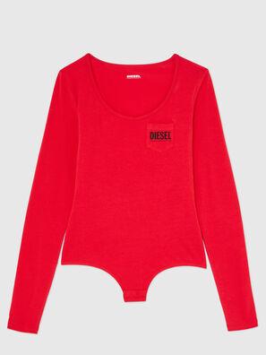 UFBY-BODYPOK-LS, Red - Bodysuits