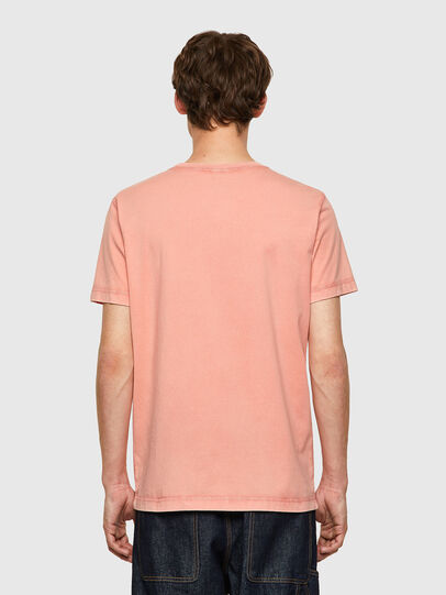 Diesel - T-WORKY-MOHI-B1, Pink - T-Shirts - Image 2