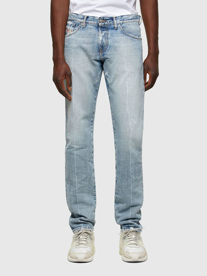 Diesel - D-Kras 009NC, Light Blue - Jeans - Image 1