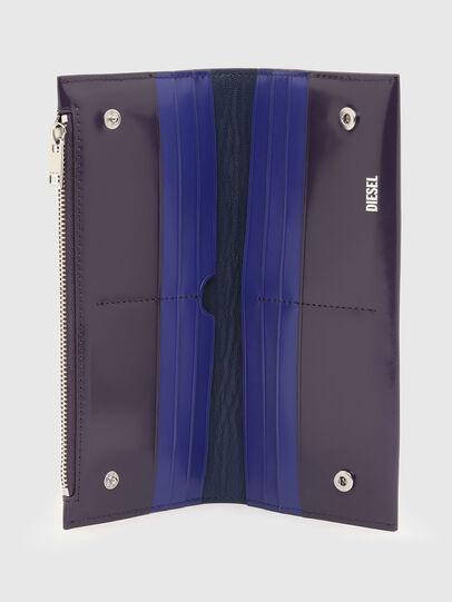 Diesel - GRANATO II, Blue - Zip-Round Wallets - Image 3