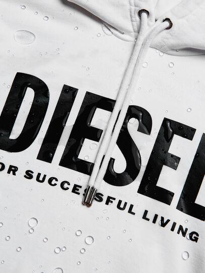 Diesel - S-GIR-HOOD-DIVISION-, White - Sweaters - Image 6