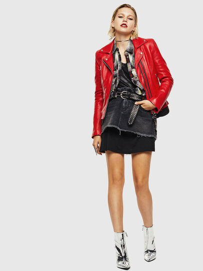 Diesel - L-CARAMA,  - Leather jackets - Image 6