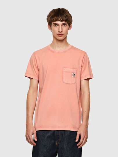 Diesel - T-WORKY-MOHI-B1, Pink - T-Shirts - Image 1