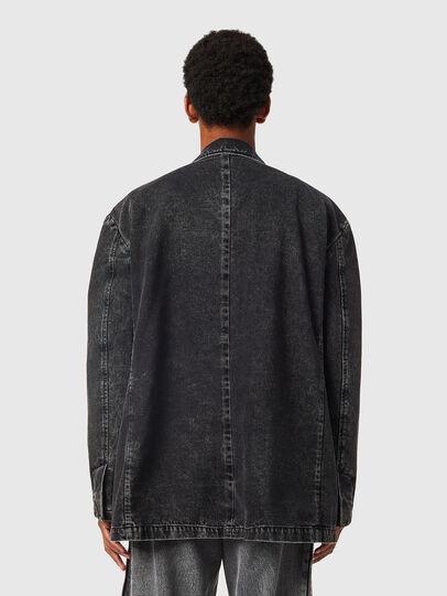 Diesel - D-BLAZ, Black - Denim Jackets - Image 3