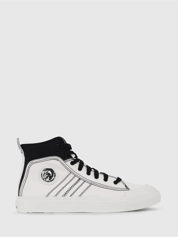 S-ASTICO MID LACE, White/Black - Sneakers