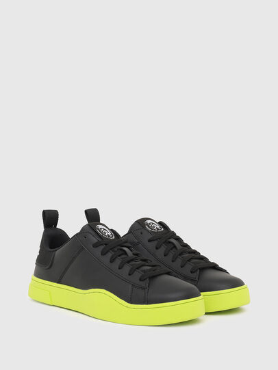 Diesel - S-CLEVER LOW LACE, Black/Yellow - Sneakers - Image 2