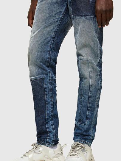 Diesel - D-Strukt 009NI, Medium blue - Jeans - Image 4