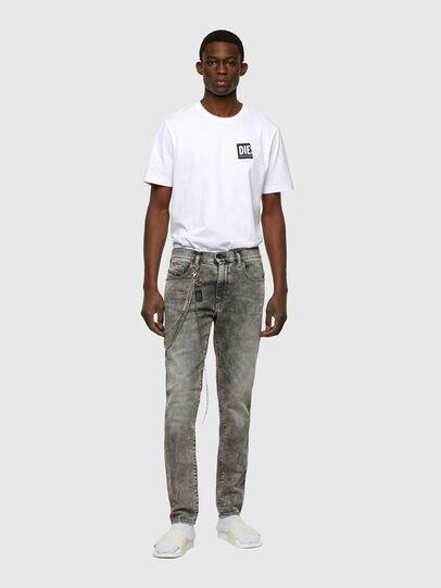 Diesel - D-Strukt 009KA, Light Grey - Jeans - Image 5