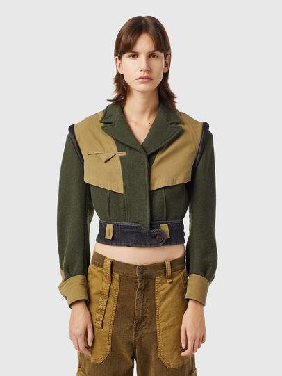 Diesel - G-ELORA, Olive Green - Jackets - Image 1