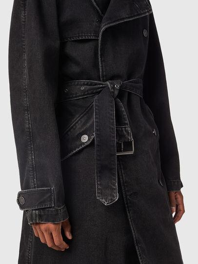 Diesel - D-DELIRIOUS, Black - Denim Jackets - Image 6