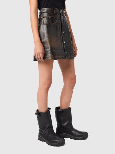 Diesel - L-LIA, Black - Skirts - Image 5