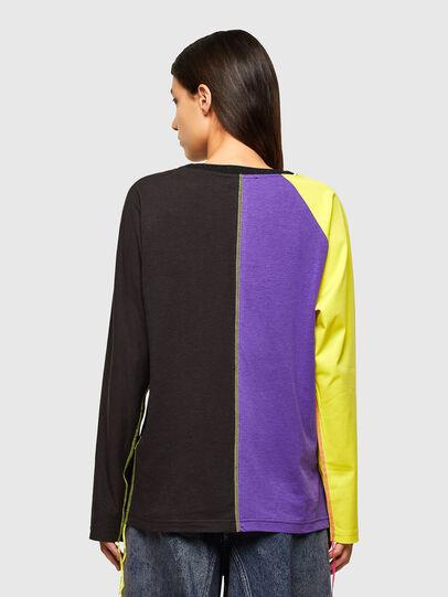 Diesel - T-KIM, Violet/Black - T-Shirts - Image 2