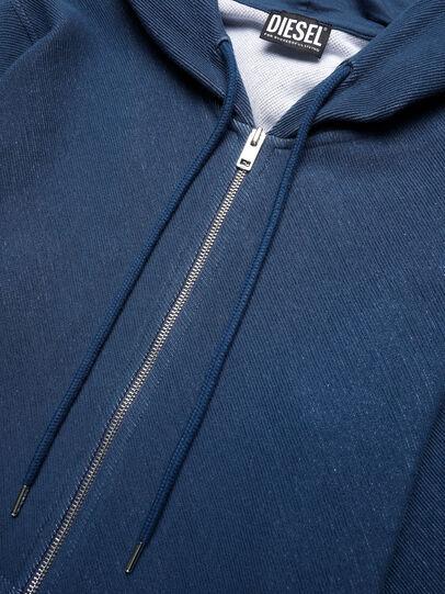 Diesel - UMLT-BRANDON-Z-DN, Blue - Sweaters - Image 3