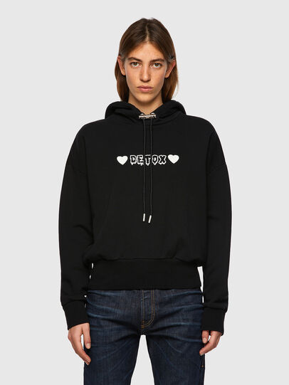 Diesel - F-MAGDALENA-B1, Black - Sweaters - Image 1