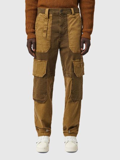 Diesel - D-Multy JoggJeans® 0AFAE, Brown - Jeans - Image 1