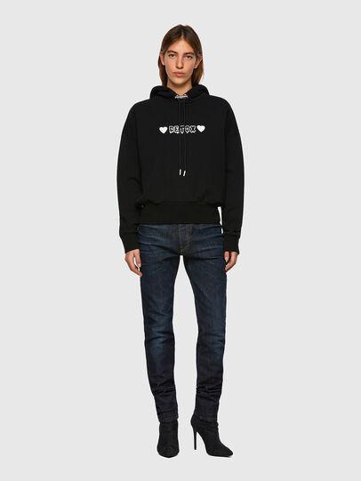 Diesel - F-MAGDALENA-B1, Black - Sweaters - Image 4