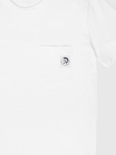Diesel - US-T-WORKY-MOHI, White - T-Shirts - Image 3