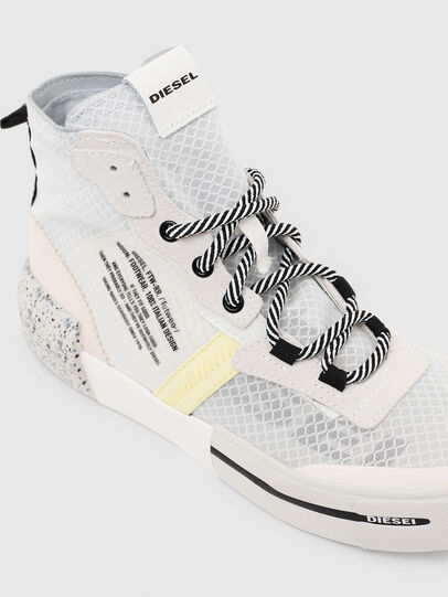 Diesel - S-DESE RC MID W, White - Sneakers - Image 4
