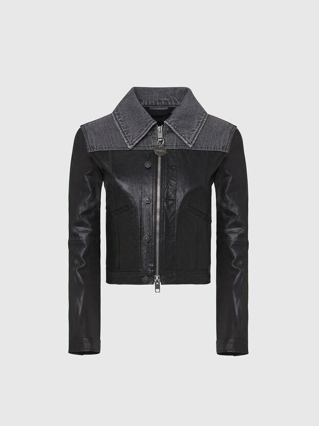 L-LYLE, Black - Leather jackets