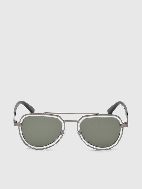 DL0266, Black/Grey - Sunglasses