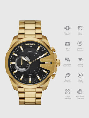 DT1013, Gold - Smartwatches